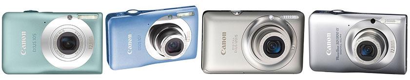 Модели цифровых компактных фотоаппаратов с объективом