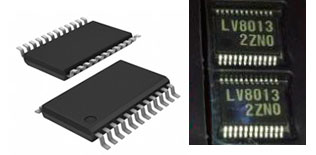 Микросхемы LV8013T