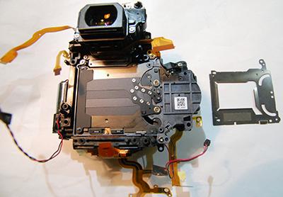 Фото блока затвора зеркального фотоаппарата Canon EOS 70D