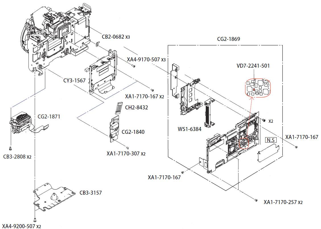 Конструкция фотокамеры Canon EOS 400D, датчик автофокусировки и другие комплектующие в AS incommerce.ru