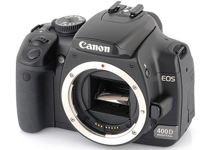 Устройство и характеристики зеркального фотоаппарата Canon EOS 400D и каталог запасных частей