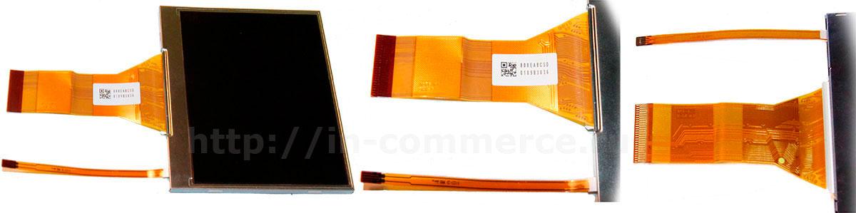 Внешний вид дисплея для зеркальных фотоаппаратов Nikon D3; Nikon D300; Nikon D700; Nikon D90.