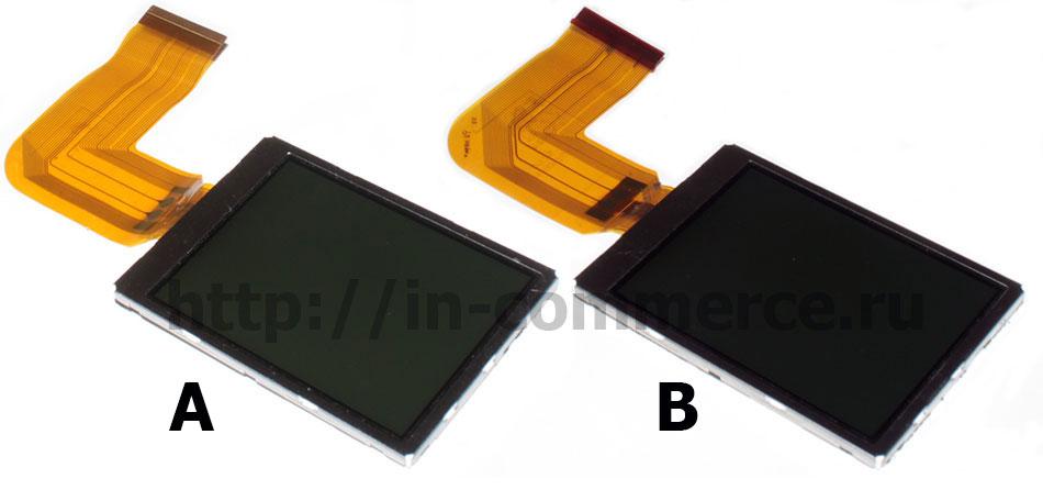 Дисплей TD025THEE7 (304000074) версии А и В для фотоаппаратов Kodak M735, Kodak M753, Kodak M853