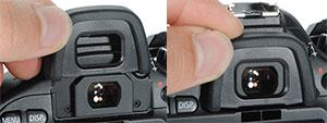 Установить наглазник на фотоаппарат nikon еще проще чем купить