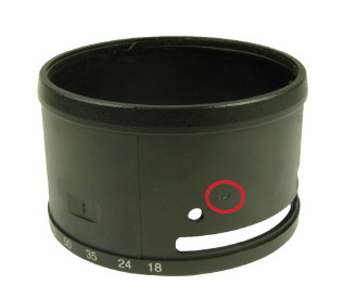 Zoom ring unit