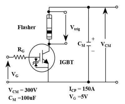 Упрощенная схема включения транзистора igbt транзистора ap25g45gem