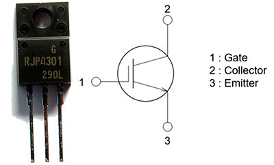 Insulated-gate bipolar transistor IGBT
