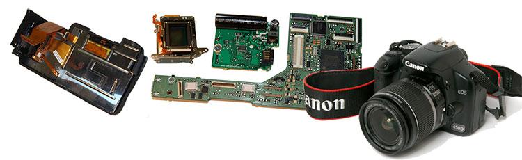 расширенный ассортимент запчастей для Canon EOS 450D, новости магазина AS in-commerce.ru