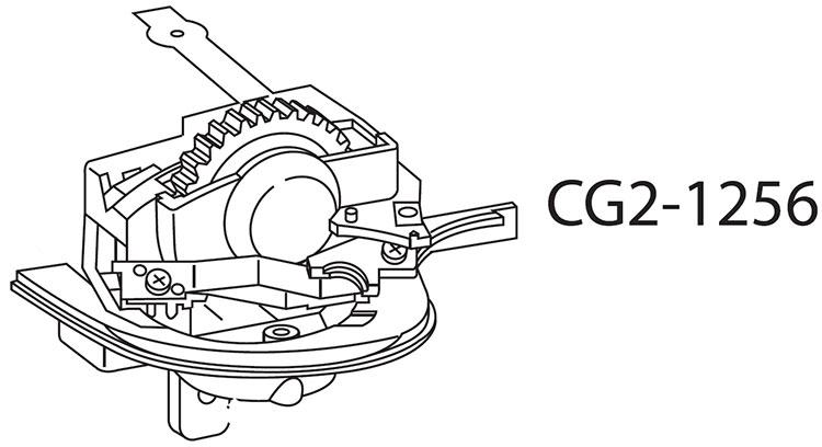Диск управления с кнопкой спуска затвора и шлейфом в сборе для Canon EOS 1D mark II