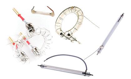 Импульсные лампы для фотовспышек