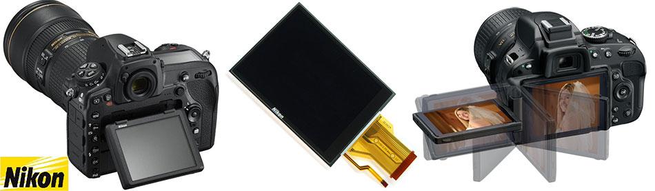 Дисплеи для зеркальных и цифровых компактных фотокамер Nikon