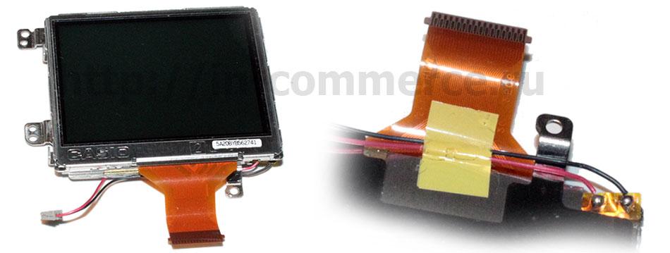 Внешний вид дисплея для компактных цифровых фотоаппаратов Nikon Coolpix E5900
