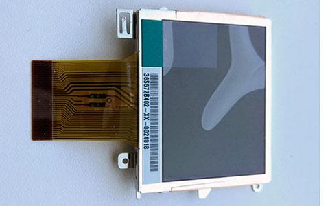 Внешний вид дисплея для компактных цифровых фотоаппаратов Nikon Coolpix L4.
