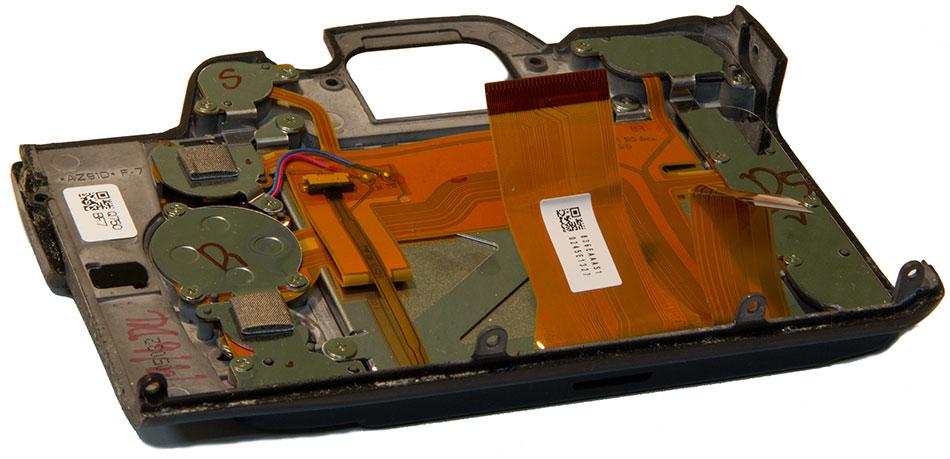 Задняя панель Nikon D7000