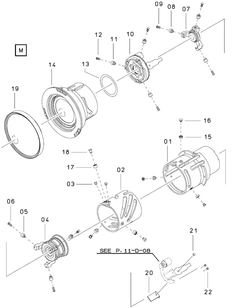 Устройство и конструкция диафрагмы объектива Sigma 12-24mm для Canon