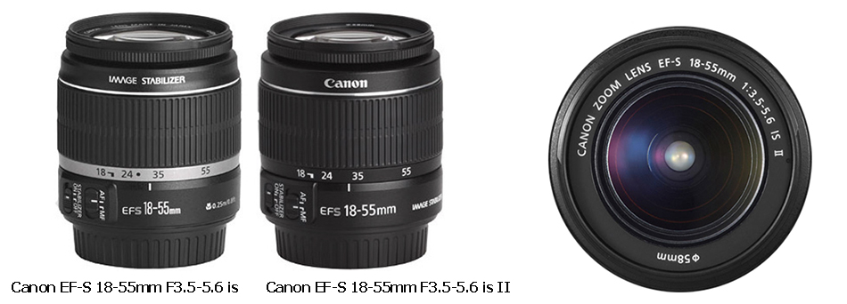 Конструкция и каталог запчастей для объектива Canon EF-S 18-55mm F/3.5-5.6 IS II в интернет-магазине AS-inCommerce