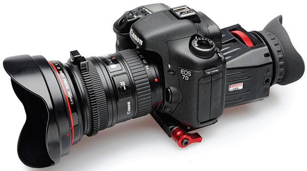 Оптические видоискатели на дисплей зеркальных фотоаппаратов и видеокамер. Обзор популярных моделей
