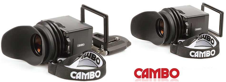 Модели оптических видоискателей Cambo