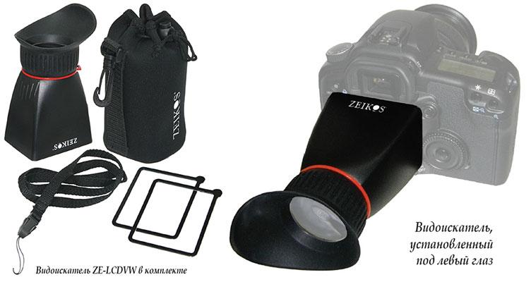 Оптические видоискатели Zeikos Electronics Corporation
