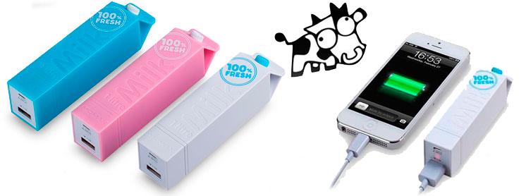 Портативное зарядное устройство iPower Milk