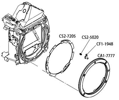 Металлические байонеты для фотоаппаратов Canon в интернет-магазине AS in-commerce