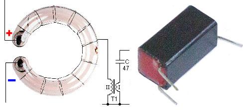 Схема включения трансформатора триггера для студийных фотовспышек и моноблоков